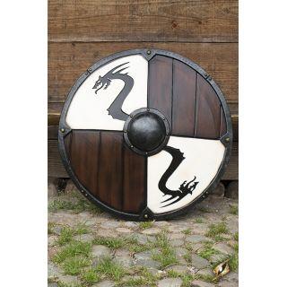 Viking Dragon Shield 80 cm - White 403051 Iron Fortress