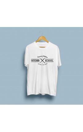 Koszulka Witcher School - biała