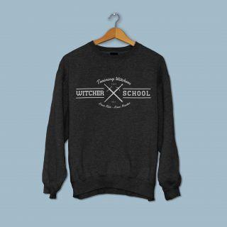 Witcher School Sweter Black