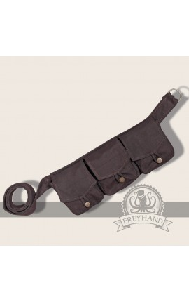 Arum pocketbelt brown