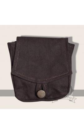 Arum belt pocket brown