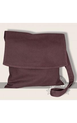 Bunias shoulder bag linen brown