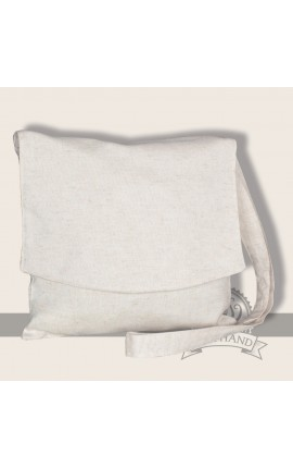 Bunias shoulder bag linen nature
