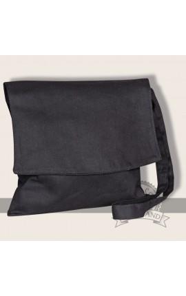 Bunias shoulder bag linen black