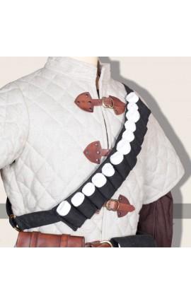 Thuja bandagebelt linen black