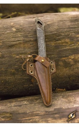 Cutthroat Knife Holder - Brown Iron Fortress