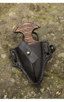 Push Dagger Holder - Epic Black Iron Fortress