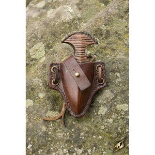 Push Dagger Holder - Brown Iron Fortress
