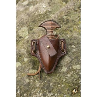 Push Dagger Holder - Brown Iron Fortress