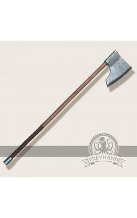 Rupert axe, two hands Freyhand