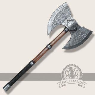 Wulfgar double axe 85cm Freyhand