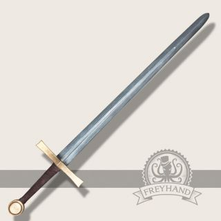 Hagen bastard sword gold Freyhand