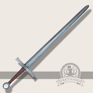 Hagen bastard sword silver Freyhand