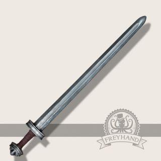 Olaf longsword silver Freyhand