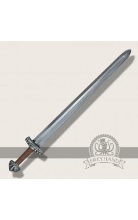 Miecz Długi Sven (srebrny) - 95 cm