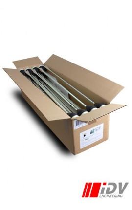Round Head - Brown/Night Glow - Box IDV-01028BOX Iron Fortress