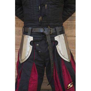 Captains Belt Shield-Polished