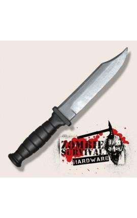 Nóż survivalowy zombie