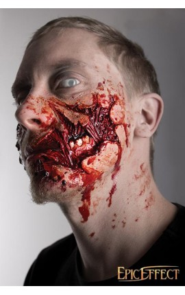 Zombie Cheek Torn protese