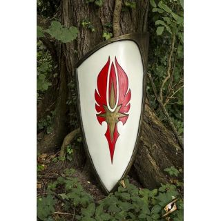 Elf Shield - Red - 120x55 cm