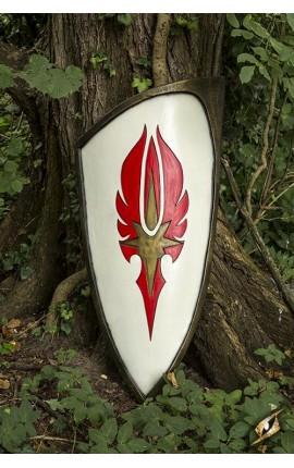 Elf Shield - Red - 120x55 cm