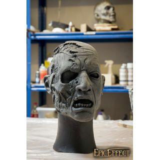 Half Face Zombie - Unpainted - 57-59cm