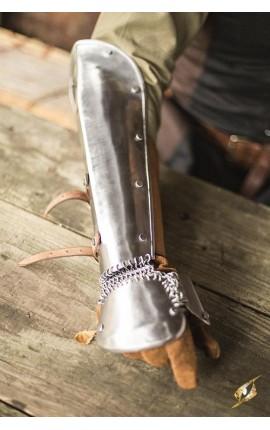 Bazuband - Polished Steel - S/M