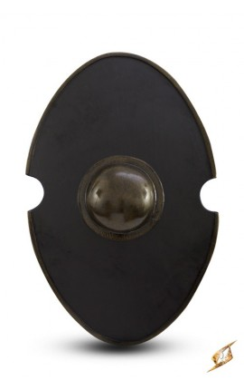 Elliptical Shield Black