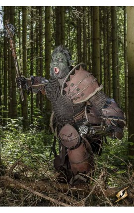 Orc Brute Armour - Brown