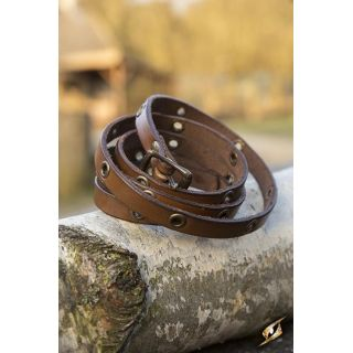 Multistrap Bracelet - Brown