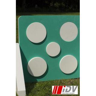 Team Target - White/Green