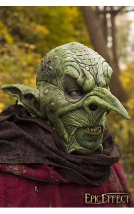 Maska władcy goblinów - Zielona