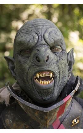 Maska mięsistego orka - Zielona