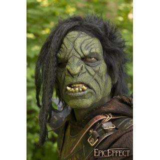 Orc Brute w. Hair - Green - 57-59 cm