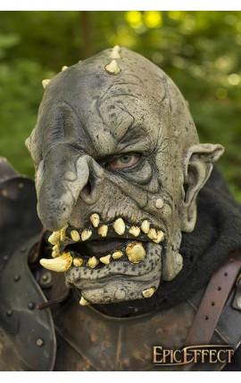 Maska trolla - Brązowa