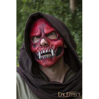 Skull Trophy Mask - Red