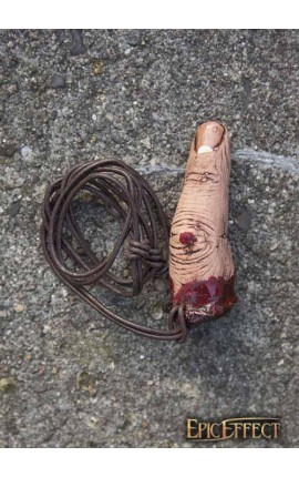 Trofeum - ludzki palec wskazujący