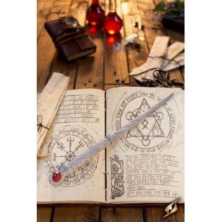 Druid Wand - White
