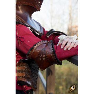 Szlachecka Skórzana Nałokcica - Czerń