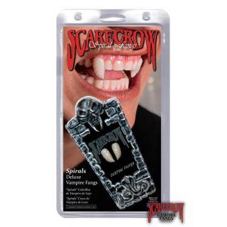 ScareCrow Vampire Fangs - Spiral