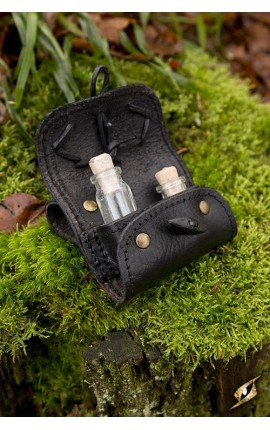 Potion holder 2 Piece - Black IF-101610 Iron Fortress