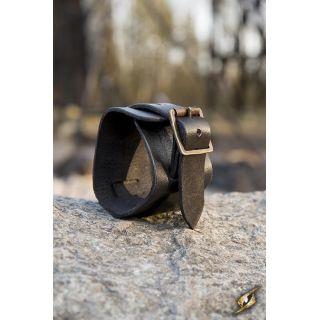 Bransoleta mankietowa - czarna