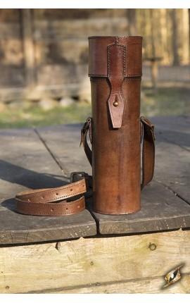 Scroll holder - Brown