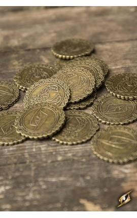 Monety - miedziany orzeł - 30 sztuk