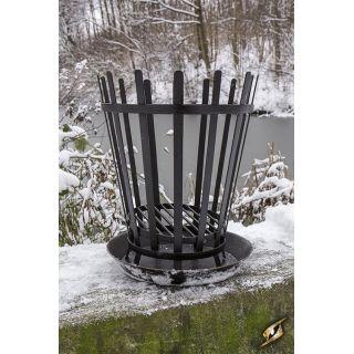 Camp Warmer w. metal tray - Roman