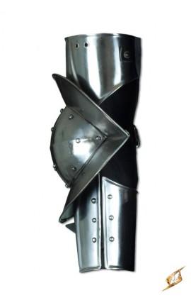 Gotycka zbroja na ramię