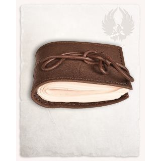 Small Pocketbook With Leather Cover