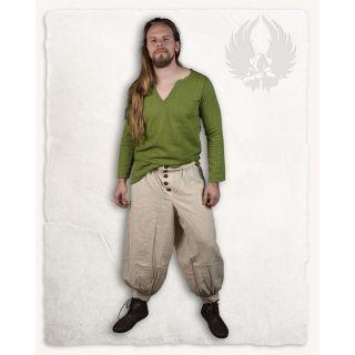 Spodnie Atamana - naturalny len