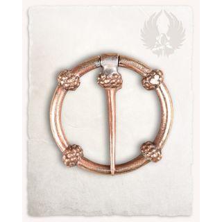 Floral ring brooch