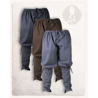 Spodnie Ketill - płócienne - naturalne